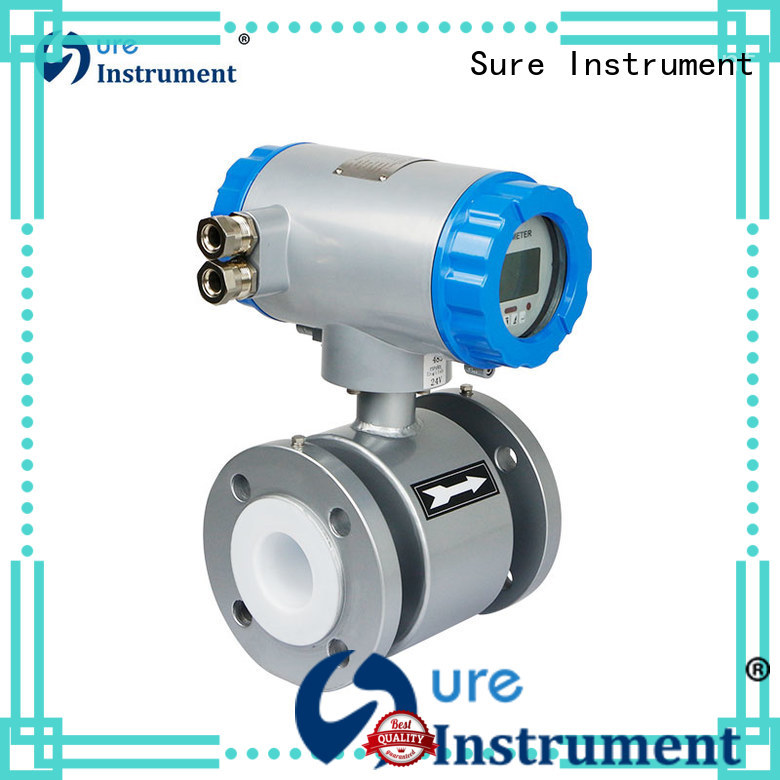 Sure magnetic flowmeter supplier for steam