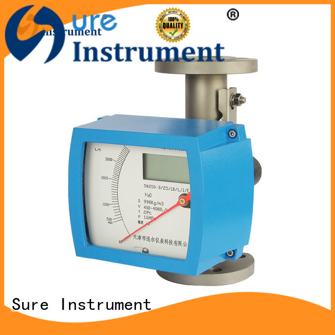 Sure Sure variable area flow meter supplier for oil