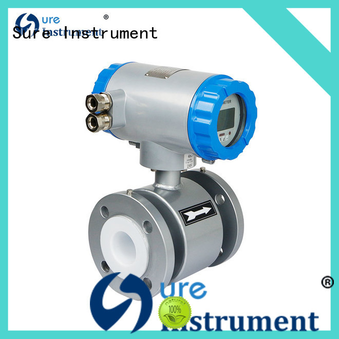 Sure electromagnetic flow meter for oil