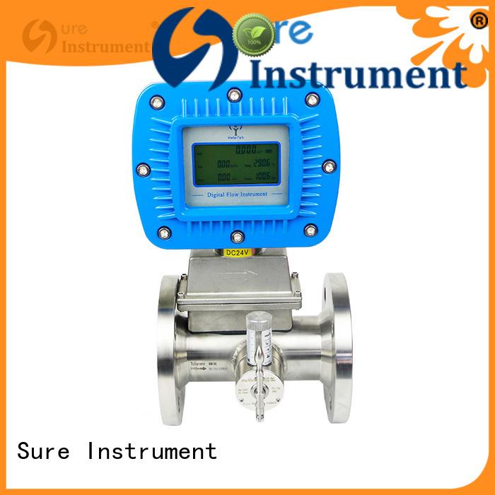 Sure natural gas flow meter solution expert for importer