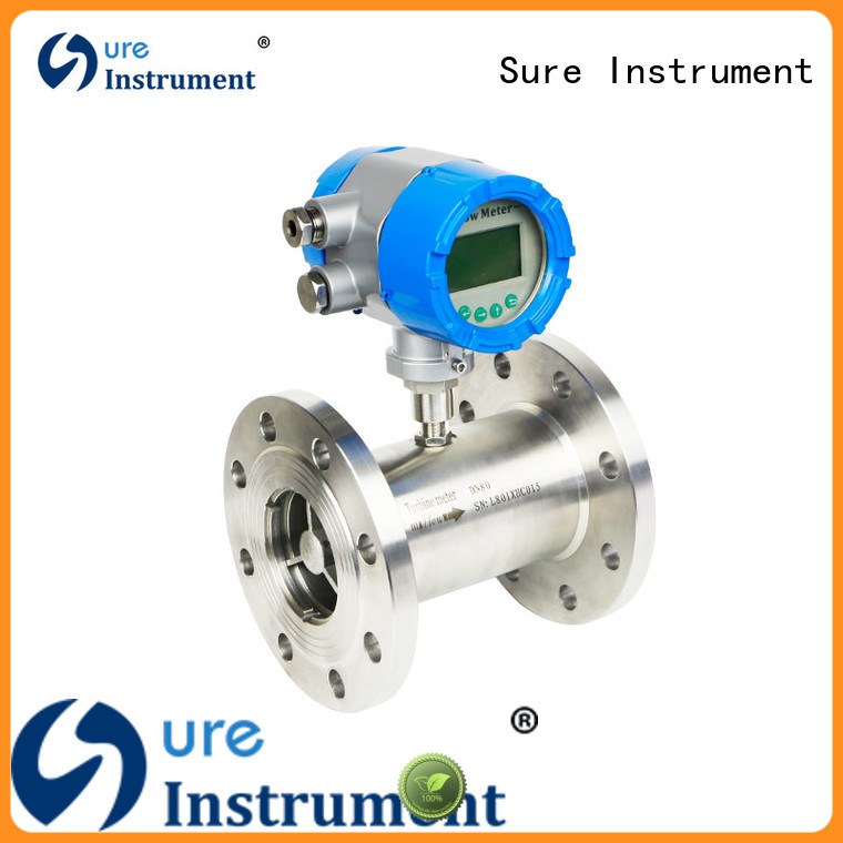 Sure 100% quality turbine flow meter factory for industry