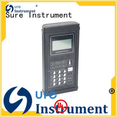 Sure ultrasonic flow meter factory for industry