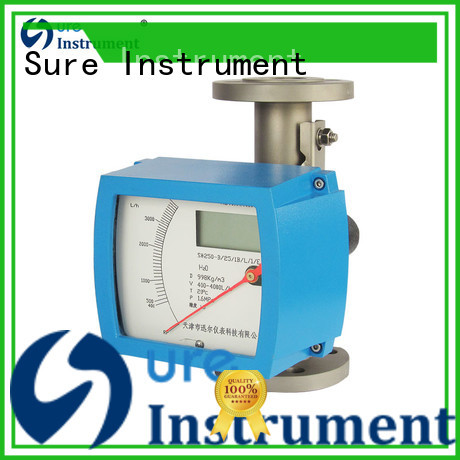 Sure custom variable area flow meter factory for oil
