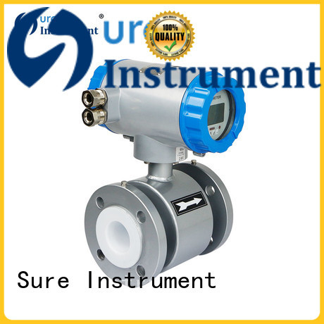 Sure rich experience electromagnetic flow meter supplier for water