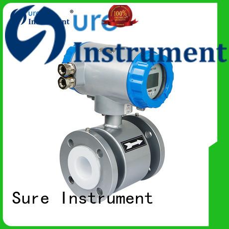 Sure professional electromagnetic flow meter manufacturer for steam