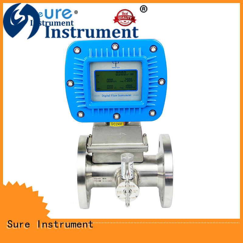 Sure natural gas flow meter factory for sale