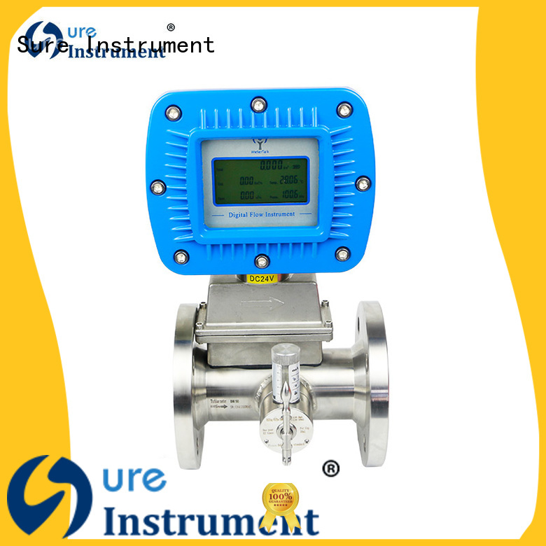 Sure highly recommend natural gas flow meter factory for industry