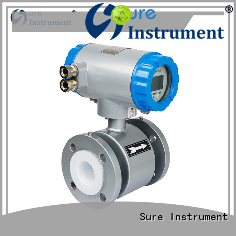 Sure rich experience magnetic flow meter supplier for gas