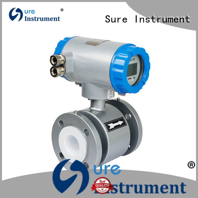 Sure electromagnetic flow meter manufacturer for water