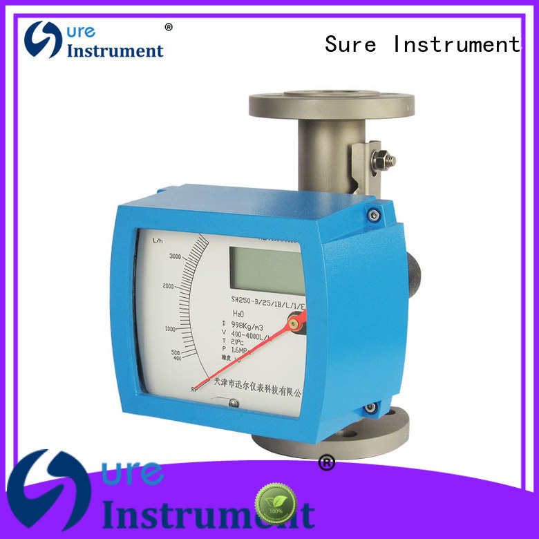 Sure Sure variable area flow meter factory for oil