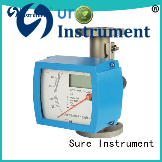 Sure variable area flow meter from China for oil
