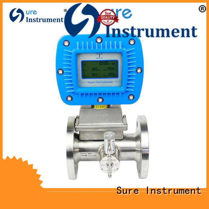 Sure natural gas flow meter trader for industry
