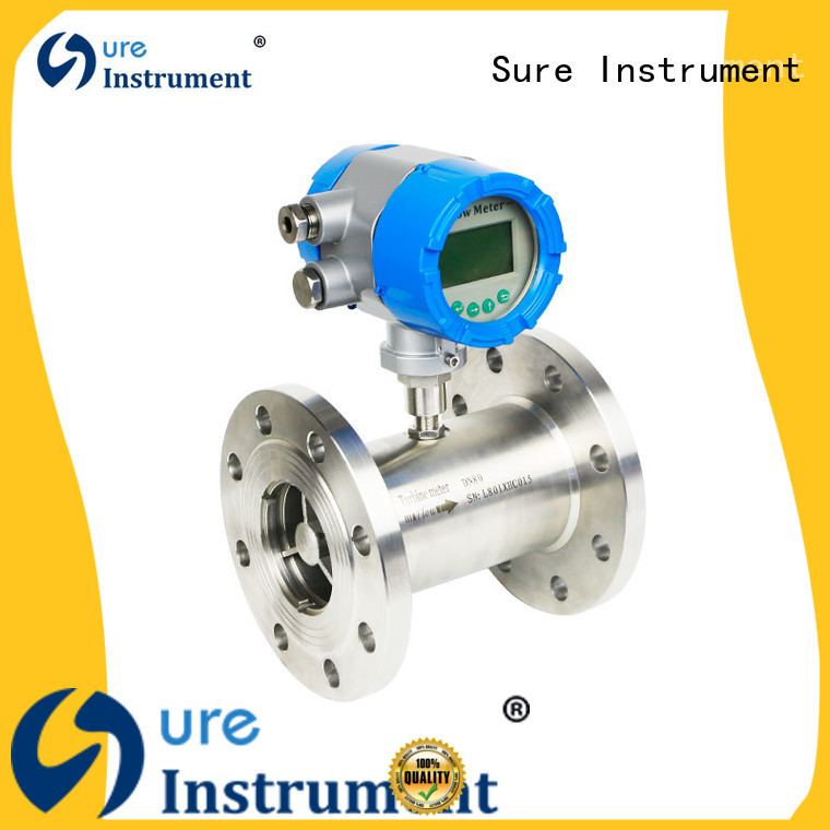 Sure turbine flow meter awarded supplier for industry