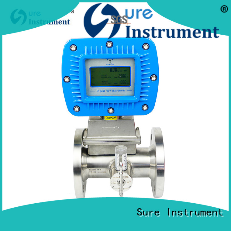 Sure custom gas flow meter factory for sale