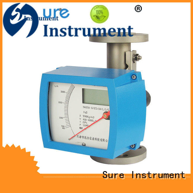 Sure variable area flow meter factory for oil