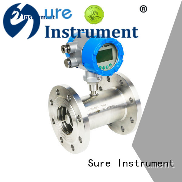 Sure turbine flow meter factory for importer