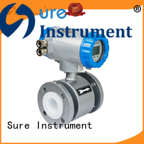 Sure professional magnetic flowmeter manufacturer for industry