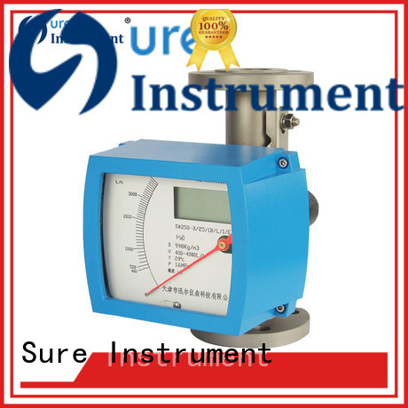 Sure variable area flow meter from China for importer