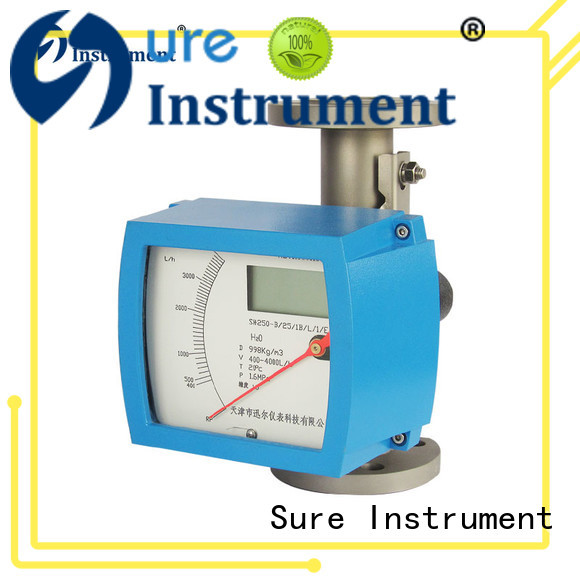 Sure reliable variable area flow meter supplier for oil