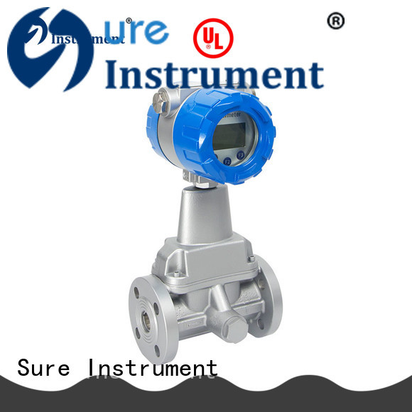 Sure reliable swirl flow meter from China for importer