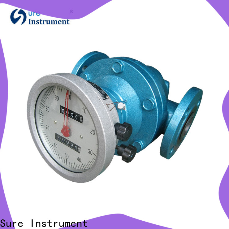 Sure rich experience oval gear flow meter supplier for steam