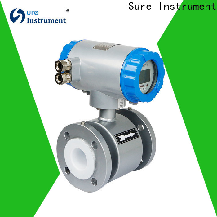 Sure professional magnetic flowmeter manufacturer for gas