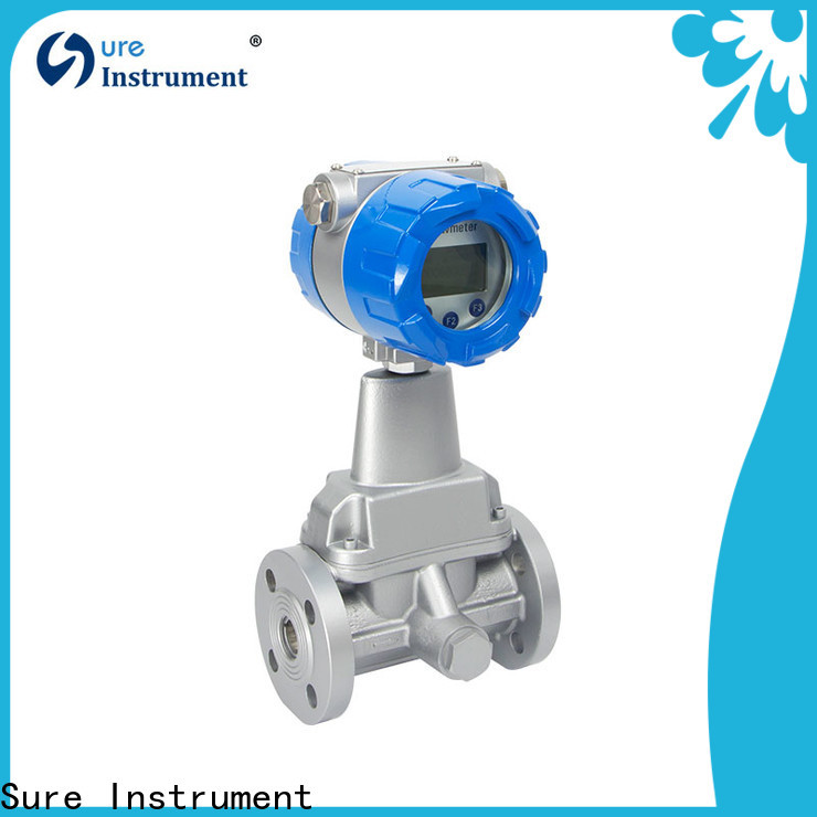 Sure 100% quality swirl flow meter factory for sale