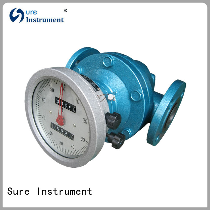 rich experience oval gear flow meter manufacturer for gas